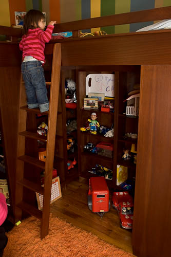 Built to order hand made bunk beds