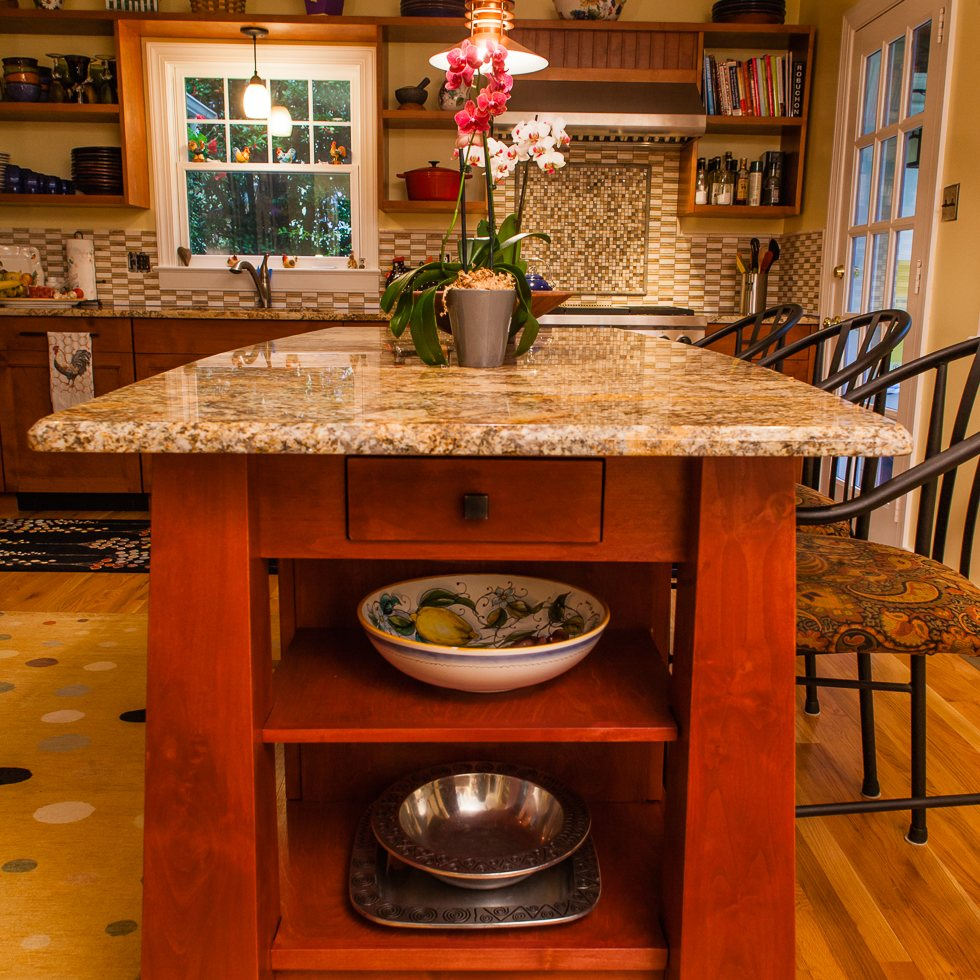 Custom Kitchen Island Design Richmond VA