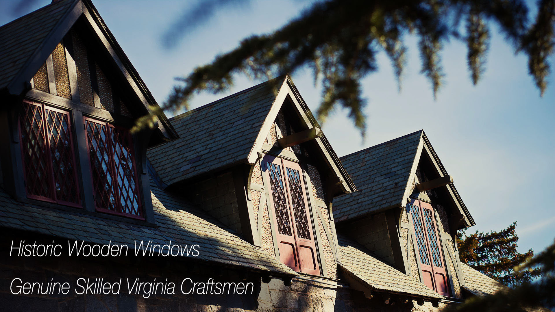 Historic Window Craftsmen Virginia