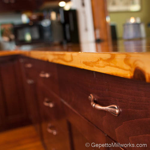 Wood Grain Counter tops