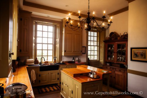 Historic Replica Architectural Millwork