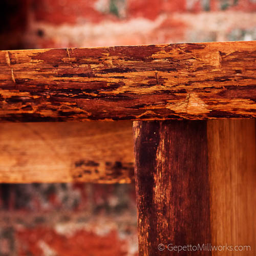 Order a live edge full slab table