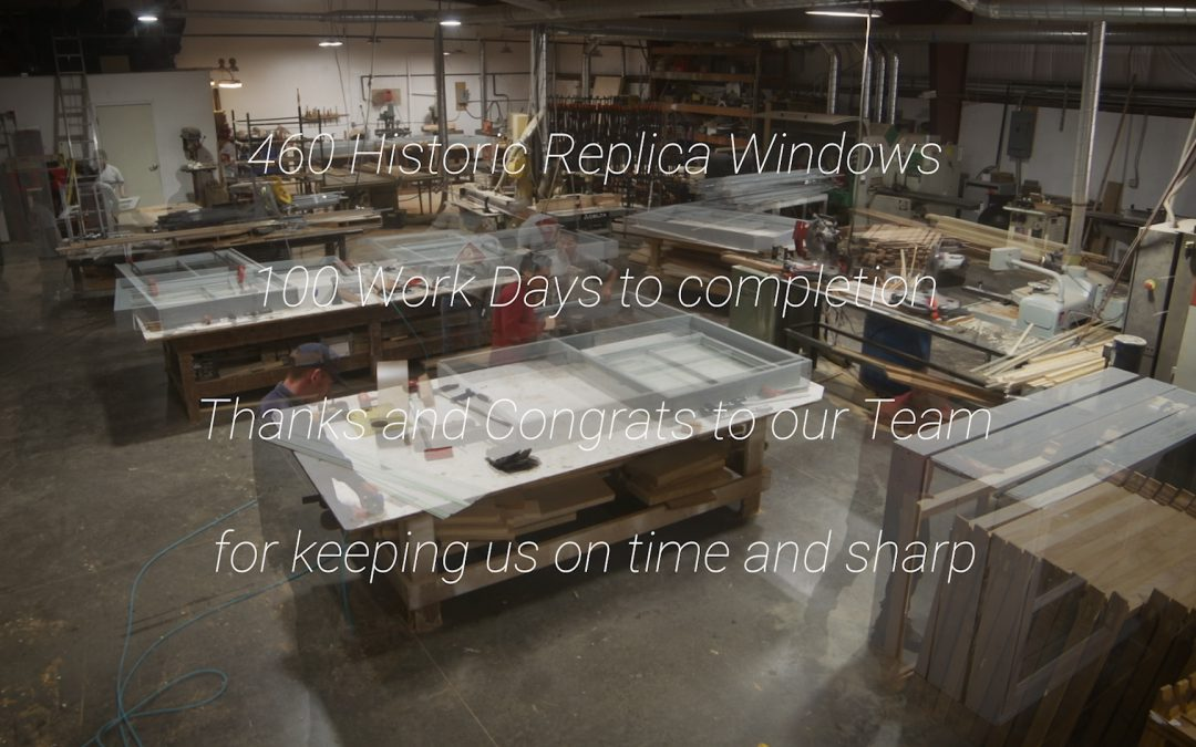 Historic Renovation | Replica Wooden Windows