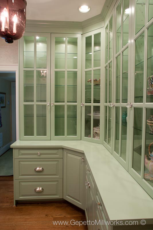 Oversize Custom China Cabinet Design And Build
