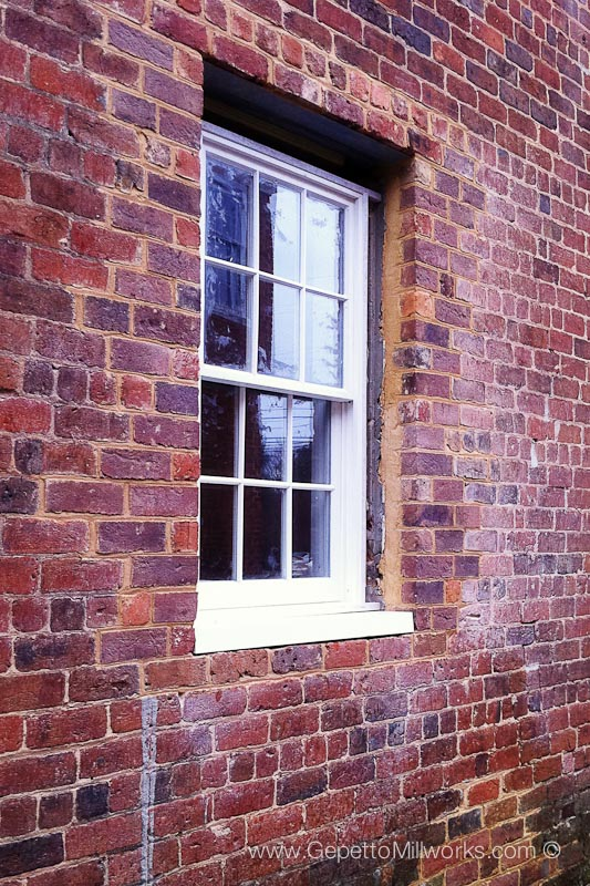 Energy Efficient historical windows with double pane