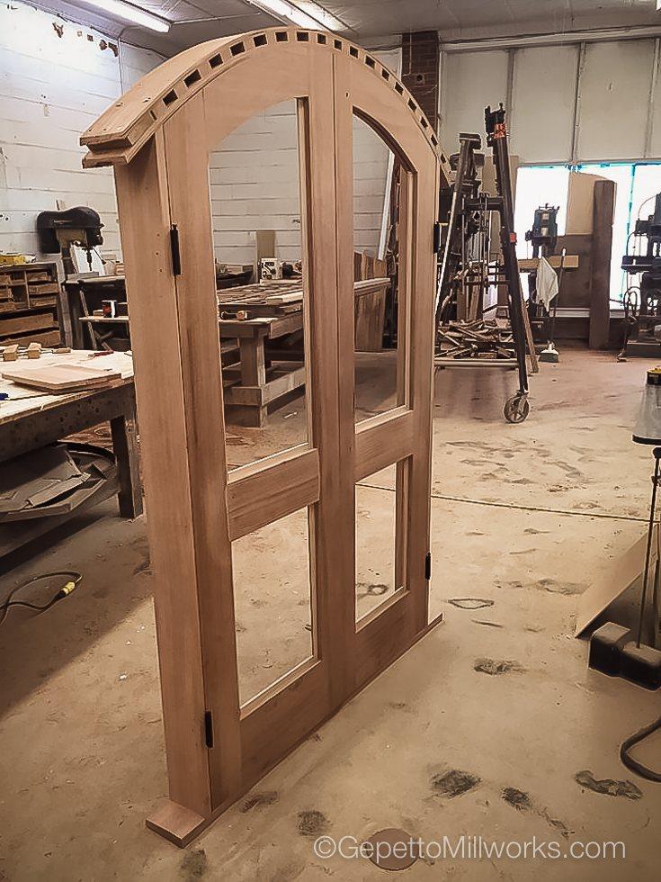 Solid Wood Door Construction & Manufacture