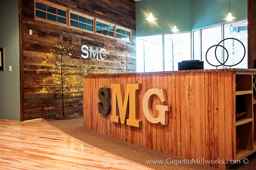 Commercial Officespace Custom Architectural Woodworking East Coast