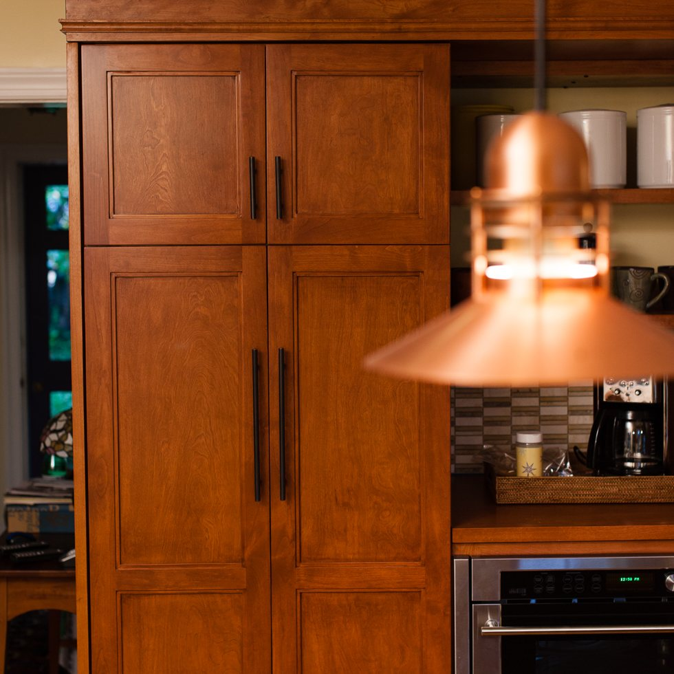 Freestanding Kitchen Storage Design Northern Virginia