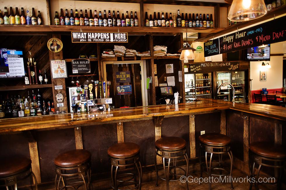 Rustic Bar & Pub Construction