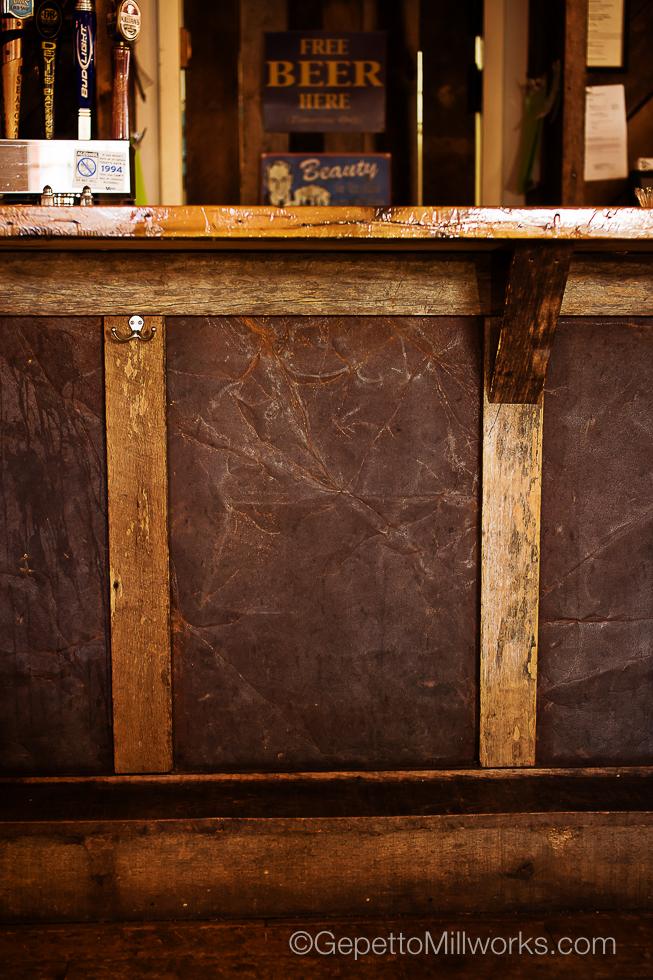 Rustic Style Barnwood Custom Built Bar VA