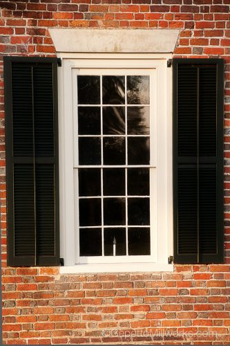 Historic Window Resotration | Handbuilt Wooden contractor Richmond VA