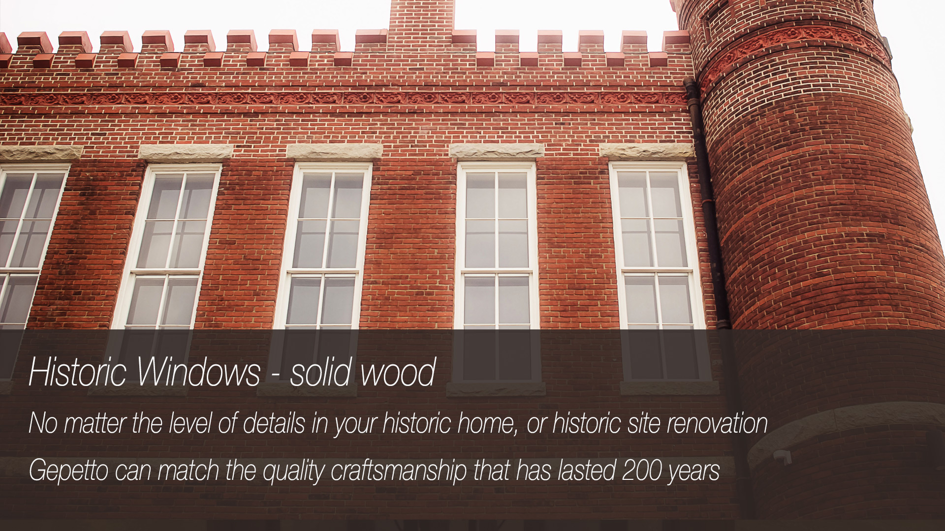 Historic Window Renovation Services
