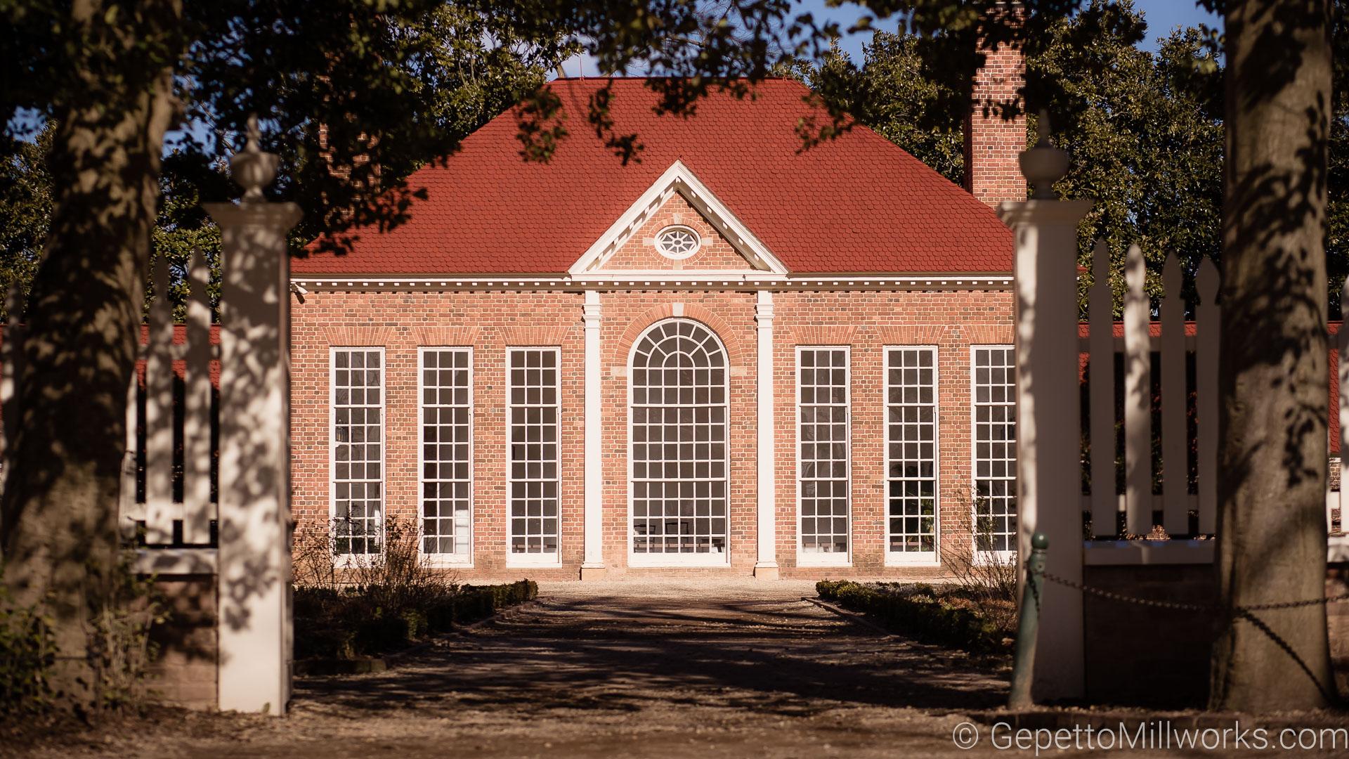 Mount Vernon Historic Site Building Materials